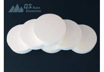Alpha-Alumina (Al2O3) Blank, 99.995%+ ultra high purity grade