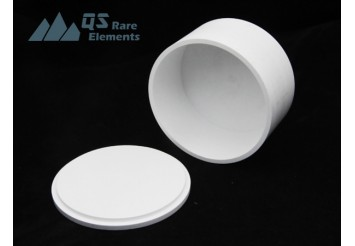 Cylindrical Boron Nitride Crucibles in stock